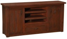 Widescreen Television Stand Red Canyon