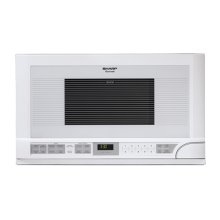 Sharp Carousel Over-the-Counter Microwave Oven 1.5 cu. ft. 1100W White***FLOOR MODEL CLOSEOUT PRICING***