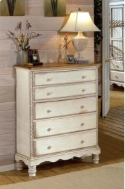 Wilshire Chest Antique White Product Image