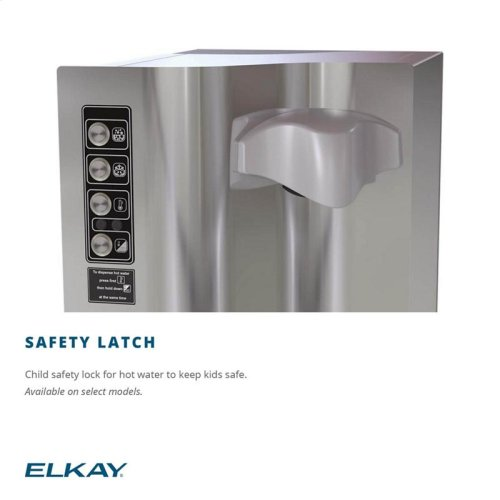 Elkay Water Dispenser 4 GPH Hot Filtered Stainless Steel