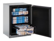 "Modular 3000 Series 24"" Freezer With Integrated Solid Finish and Field Reversible Door Swing"