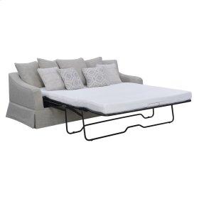 King Sleeper W/ 5 Back Pillows +4 Accent Pillows-sand Beige