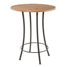 Bistro Iron Bar Table