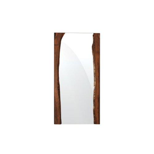 Live Edge Deluxe Leaning Floor Mirror