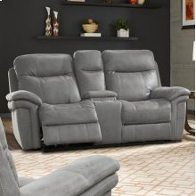 Mason Carbon Power Console Loveseat