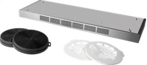 """48"""" Non-Duct Kit for Broan Elite E60 and E64 Series Range Hoods in Stainless Steel"""