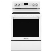 KitchenAid® 30-Inch 5-Element Electric Convection Range - White