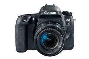 Canon EOS 77D EF-S 18-55mm f/4-5.6 IS STM Lens Kit EOS Digital SLR