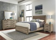 Queen Uph Bed, Dresser & Mirror, Chest, N/S Product Image
