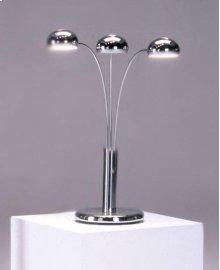 Chrome Spider Table Lamp