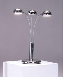 Chrome Spider Table Lamp