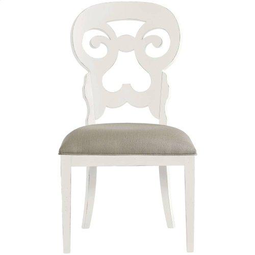 Retreat-Wayfarer Side Chair in Saltbox White