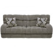 """Lay Flat"" Recl Sofa - Wine Product Image"