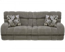 "Power ""Lay Flat"" Recl Sofa - Canyon"