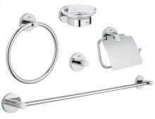 Essentials Master bathroom accessories set 5-in-1