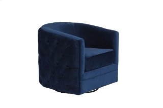 Gabby Navy Blue Swivel Accent Chair, AC507