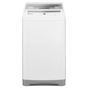 AMANA1.5 cu. ft. Compact Washer with Stainless Steel Tub - white