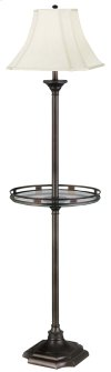 Wentworth - Floor Lamp with Gallery Tray