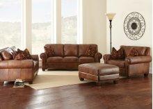 "Silverado Sofa, 91""x41""x38"" w/ Two Accent Pillows"