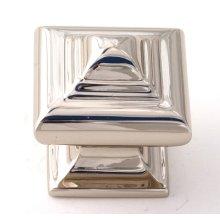 Geometric Knob A1520 - Polished Nickel