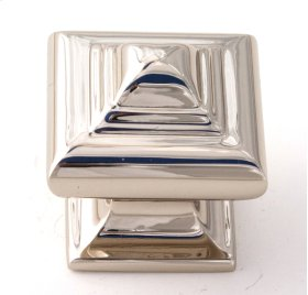 Geometric Knob A1520 - Polished Nickel