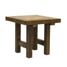 Las Piedras End Table W/Painted Wood