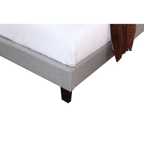 Emerald Home Madison Upholstered Bed Kit King Light Gray B131-12hbfbr-03