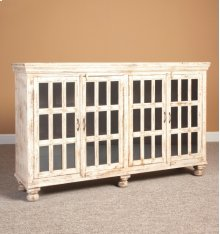 Four Door Sideboard- Weathered Beach