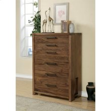 Terra Vista - Six Drawer Chest - Casual Walnut Finish