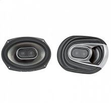 """MM1 Series 6x9"""" Three Way Speakers with Ultra-Marine Certification in Black and Silver"""