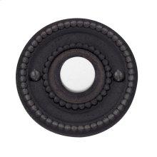 Distressed Venetian Bronze Beaded Bell Button