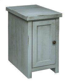Calistoga Blue Chair Table w/Door
