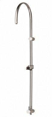 Aquablu round rail with inline diverter waterway