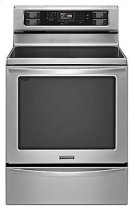 30-Inch 5-Element Electric Freestanding Range, Architect® Series II - Stainless Steel Product Image