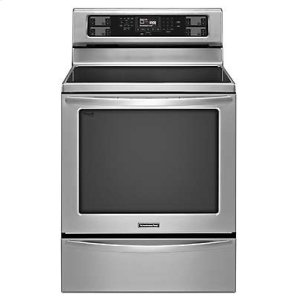 Kitchenaid30-Inch 5-Element Electric Freestanding Range, Architect(R) Series II - Stainless Steel
