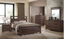 4pc E King Bed Set