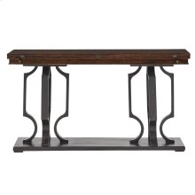 Virage Flip Top Console Table in Truffle