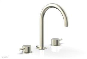 BASIC II Widespread Faucet 230-04 - Satin Nickel