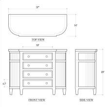 Dorchester console cabinet