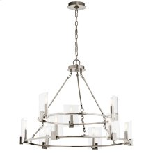 Signata Collection Signata 9 Light Chandelier in Classic Pewter CLP