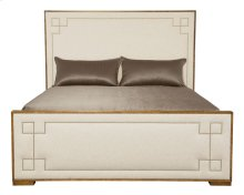 California King-Sized Soho Luxe Upholstered Bed in Dark Caramel (368)