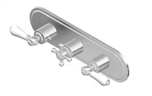 Canterbury M-Series Valve Horizontal Trim with Three Handles