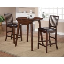Mango Pub Drop Leaf Dining Set
