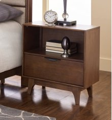 Nightstand - Cinnamon Finish