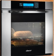 """Discovery 27"""" Millennia Single Wall Oven, in Stainless Steel with Horizontal Black Glass"""