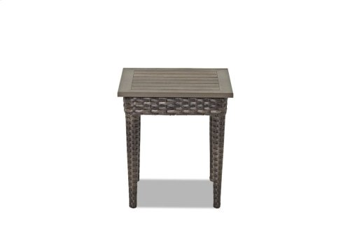 Cascade Square End Table
