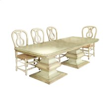 San Marco Double Pedestal Dining Table