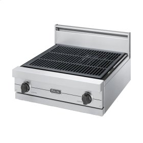 """Stainless Steel 24"""" Gas Char-Grill - VGQT (24"""" wide char-grill)"""
