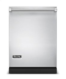 """24"""" Dishwasher w/Water Softener and Installed Professional Stainless Steel Panel"""