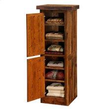Linen Cabinet - 18-inch - Hinge Left